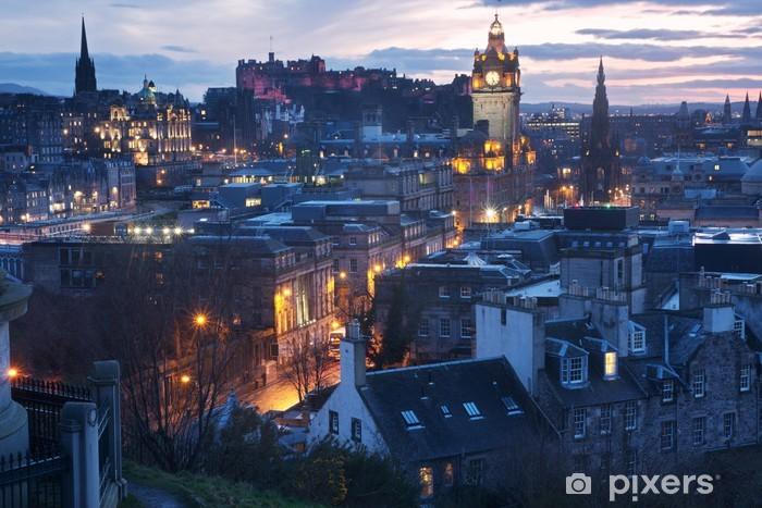 Vinyl Fotobehang Edinburgh, Schotland - Thema's