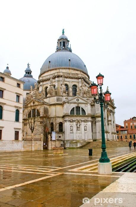 Fototapeta winylowa Wenecja - Bazylika Santa Maria della Salute - Miasta europejskie
