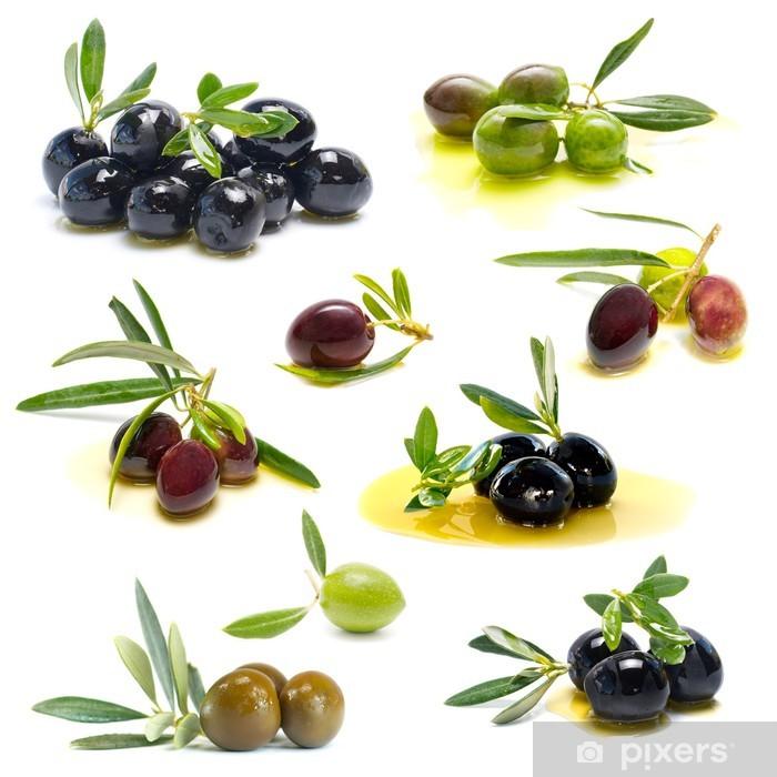 Poster Frische Oliven - Oliven