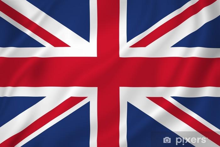 Fototapeta winylowa British flag - Tematy