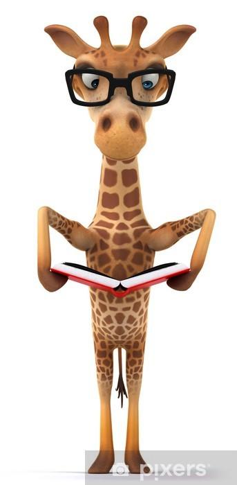 Nálepka Pixerstick Žirafa - Značky a symboly