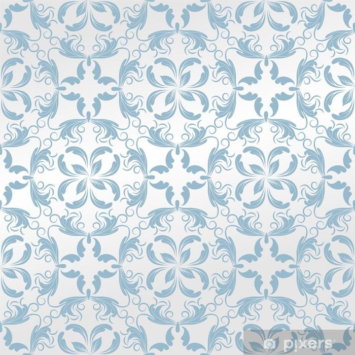 Naklejka Pixerstick Tapeta bez szwu background.damask pattern.flower - Tła