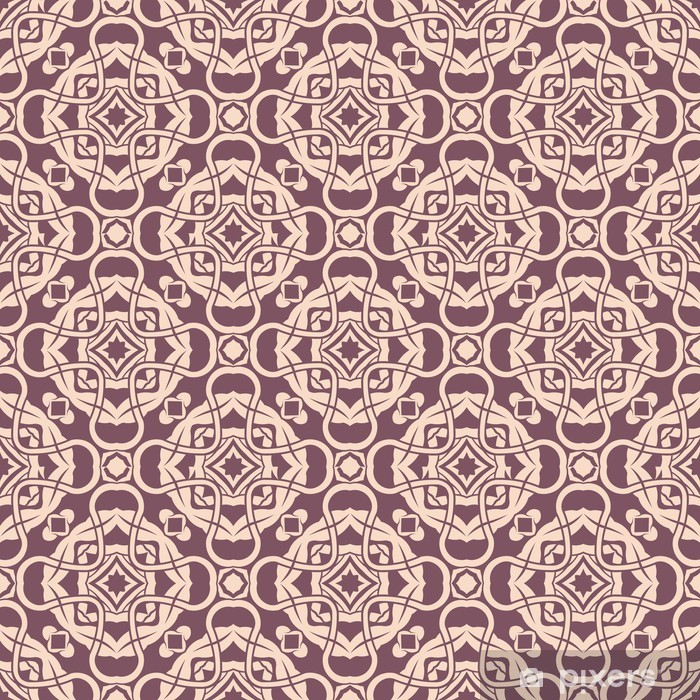 Seamless pattern Pixerstick Sticker - Backgrounds