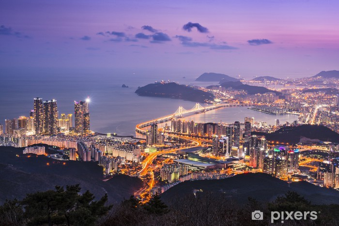 Fototapeta winylowa Busan, Korea Południowa - Azja