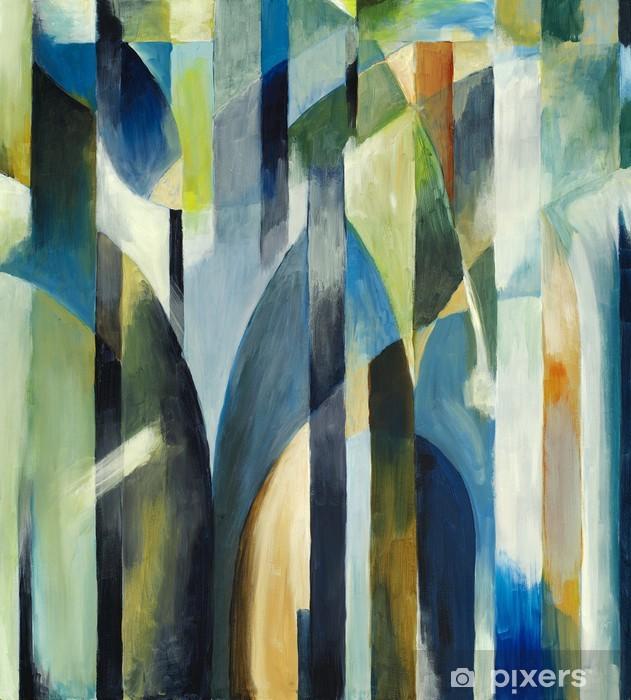 Fototapet av Vinyl En abstrakt målning - Stilar