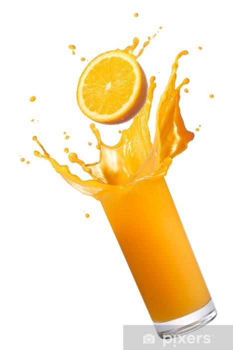 Orange Juice Splash Wall Mural Pixers 174 We Live To Change