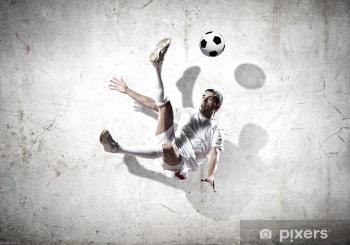 Fototapeta zmywalna Piłkarz - Mężczyźni