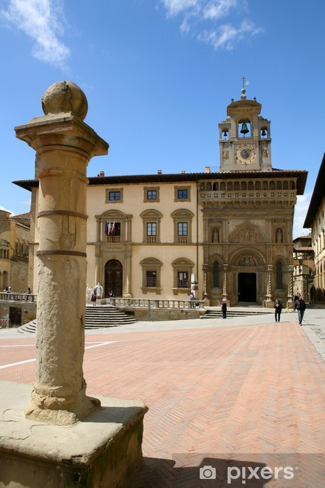 Naklejka Pixerstick Arezzo - Europa