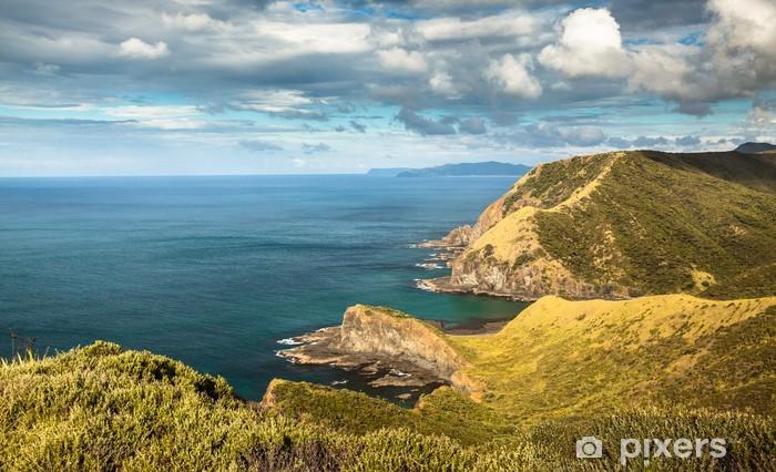 Fototapeta winylowa Duchy Bay w Cape Reinga (Nowa Zelandia - daleko na północ), w którym - Tematy