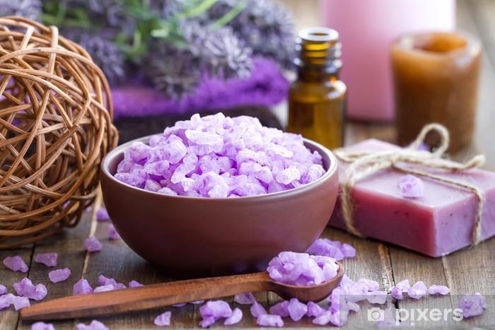 Papier peint vinyle Lavender spa - Thèmes