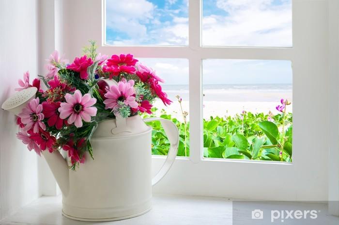 Fototapeta winylowa Bukiet sztucznych kwiatów - Tematy