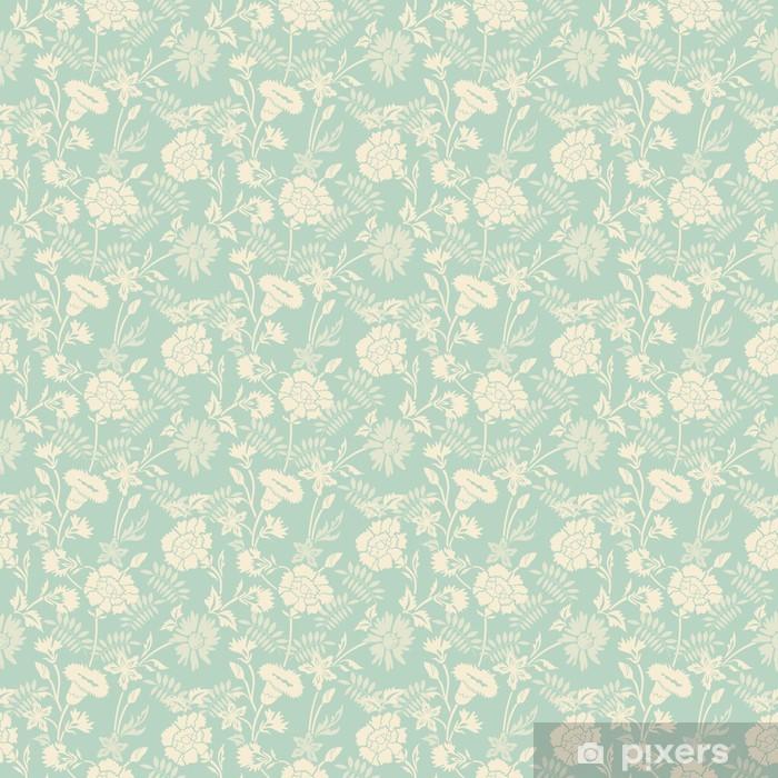 Papier peint vinyle Seamless résumé motif floral de fond - Styles