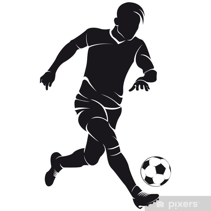 Fußball Silhouette