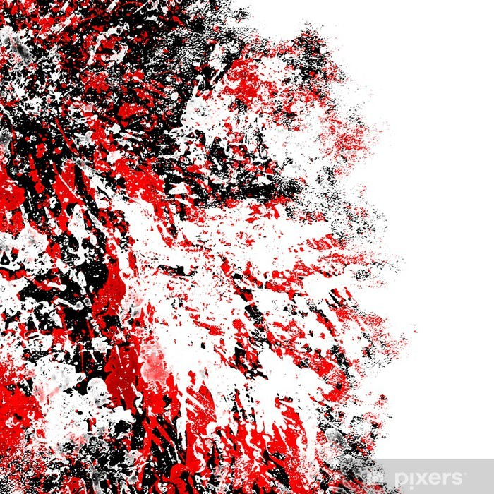 Nálepka Pixerstick Střik laku pozadí - Umění a tvorba