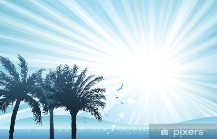 Carta da Parati in Vinile Paesaggio estivo - Vacanze