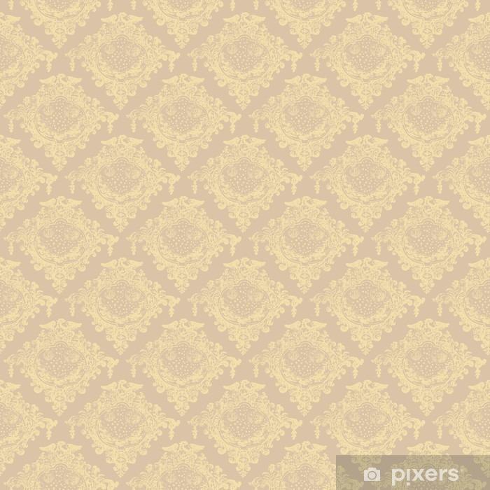Naklejka Pixerstick Wzór bezszwowy - Zasoby graficzne
