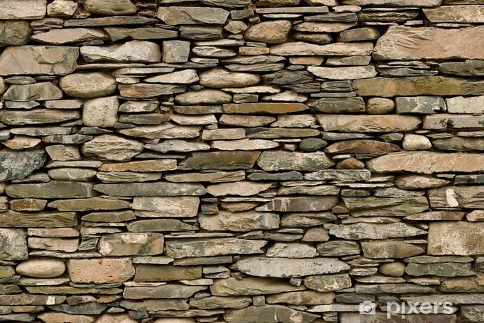 Papier peint vinyle Mur en pierre sèche - Styles