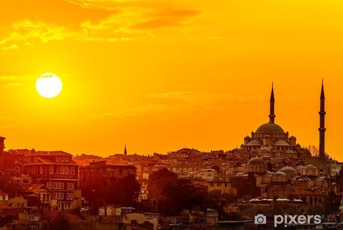 Fototapeta winylowa Istanbul słońca - Tematy