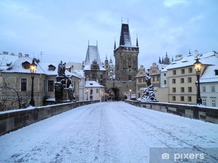 Naklejka Pixerstick Średniowieczny Praga - Europa
