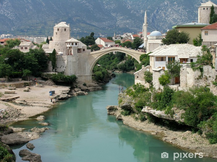 Fototapeta winylowa Mostar - Tematy