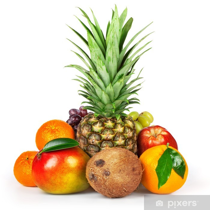 Poster Rohes Obst - Früchte