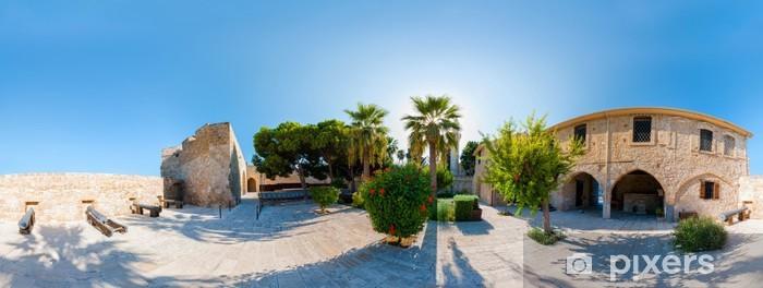 Fototapeta winylowa Średniowieczny Zamek w Larnace. Panoramy 360 stopni - Europa