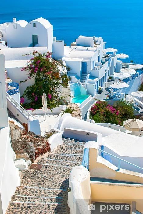 Fototapeta samoprzylepna Santorini, Grecja - Tematy