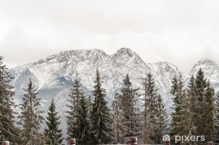 Adesivo Pixerstick Monti Tatra, con Giewont picco - Temi