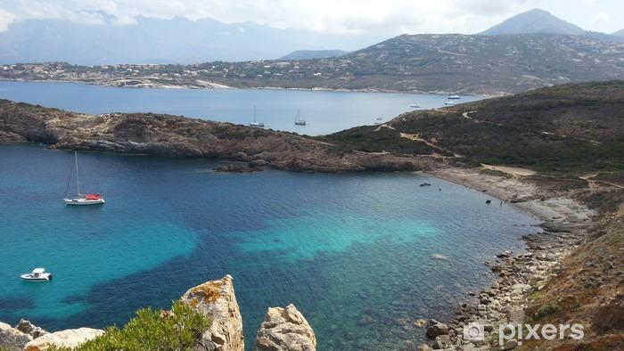 Naklejka Pixerstick Krajobraz Korsyki - Europa