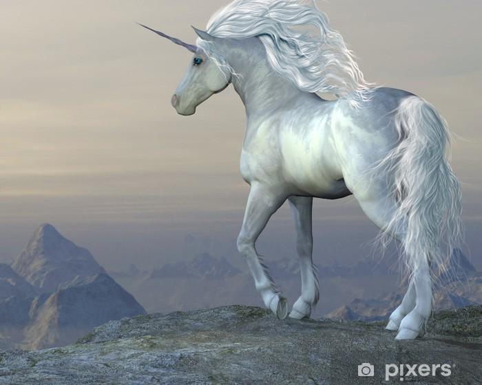 Unicorn Bluff Dør klistemærke -