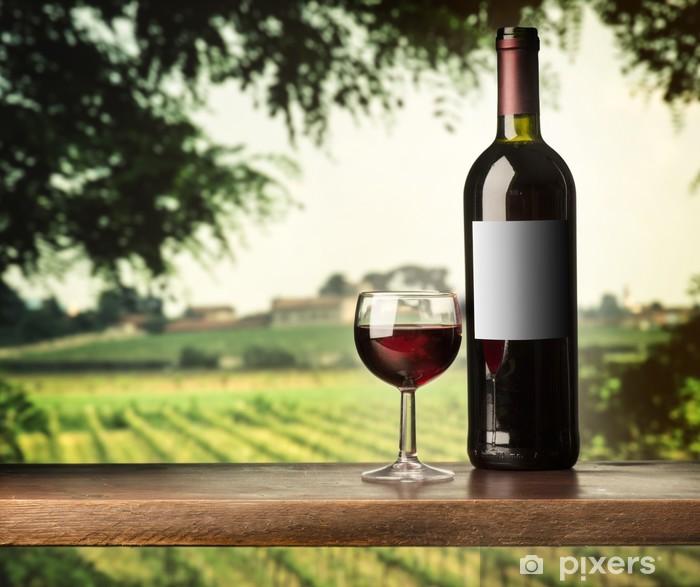 Sticker Pixerstick Re verre de vin - Thèmes