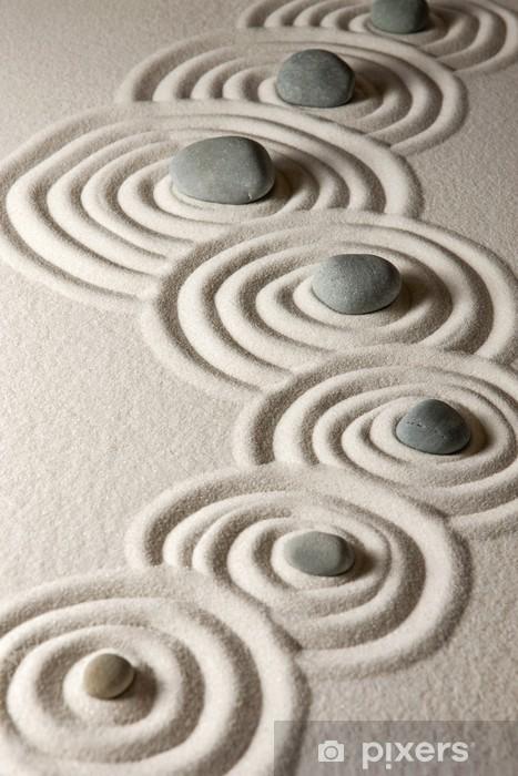 Papier peint vinyle Zen stones - Thèmes