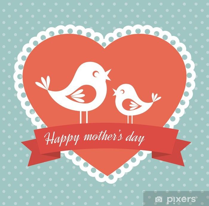 Plakat Dzień Matki - Znaki i symbole