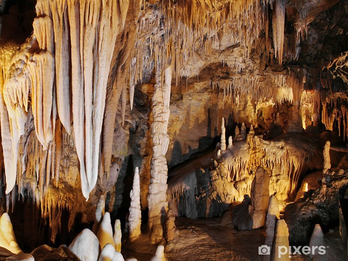 Pixerstick Dekor Stalaktiter och stalagmiter - Naturens mirakel