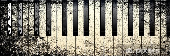 Papier peint vinyle Jazz Piano Styles - Piano à queue