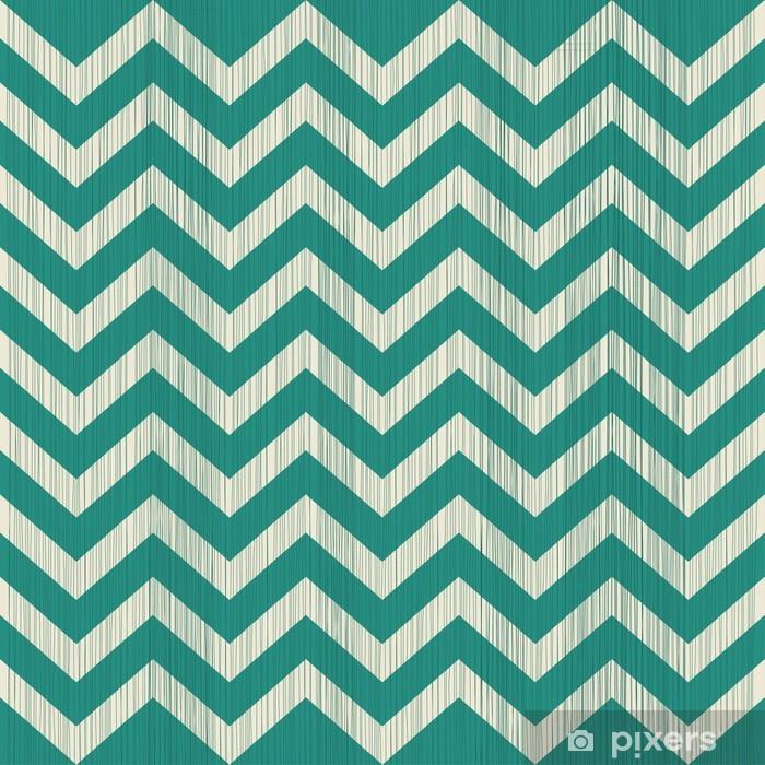 Vinyl Fotobehang Leuke geometrische naadloze patroon met stof textuur effect - Achtergrond