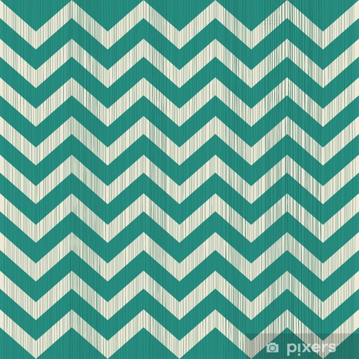 cute geometric seamless pattern with fabric texture effect Vinyl Wall Mural - Backgrounds