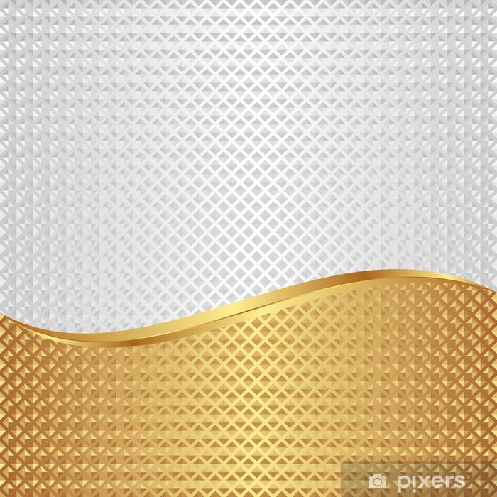 Carta Da Parati Sfondo Bianco E Oro Con Texture Pixers Viviamo