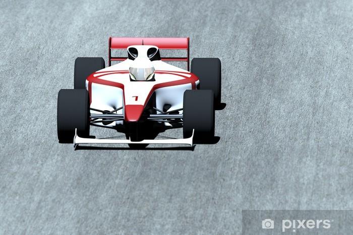 Fototapeta winylowa Samochód wyścigowy na torze - Tematy