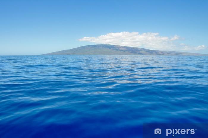 Fototapeta winylowa Błękitne morze i wyspy Lanai, Maui (USA) - Tematy