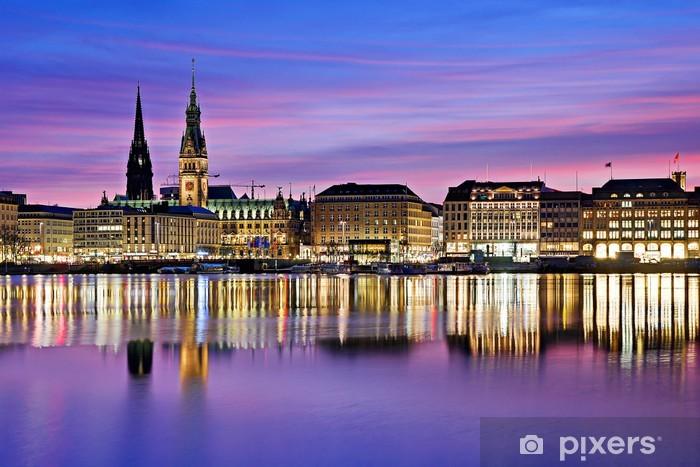 Papier peint vinyle Alster à Hambourg - Vacances
