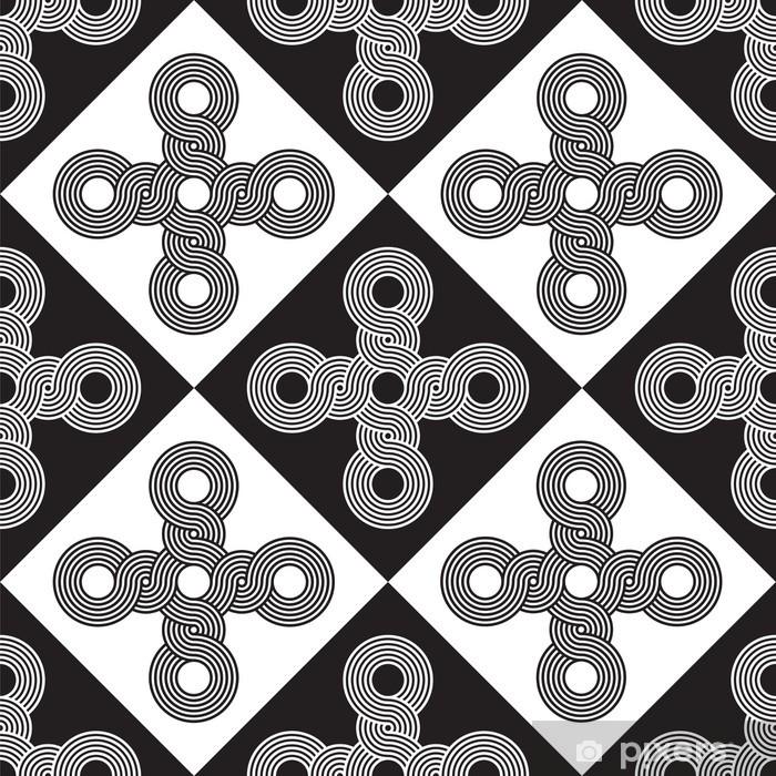 Poster Seamless Art Déco Texture Background - Art et création
