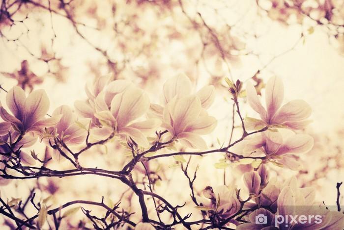 Papier peint vinyle Magnolia - Styles