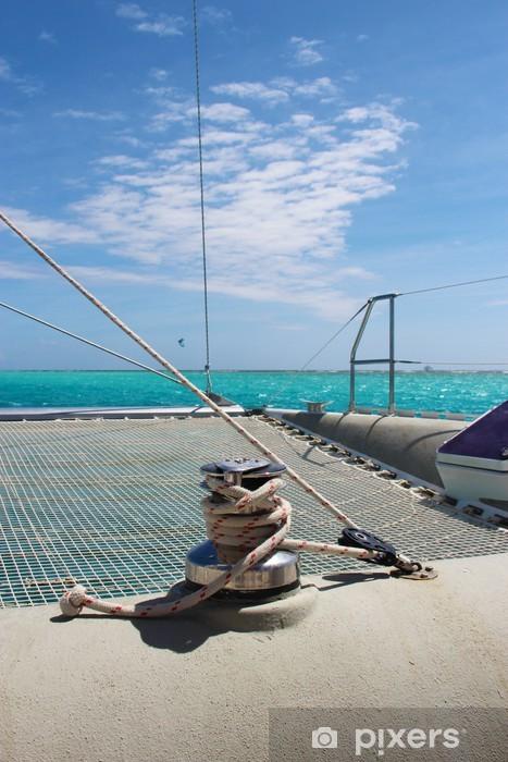 Papier peint vinyle Catamaran - Vacances