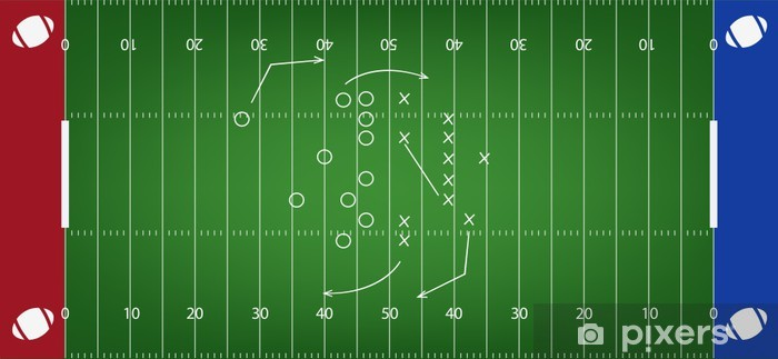 American Football Feld