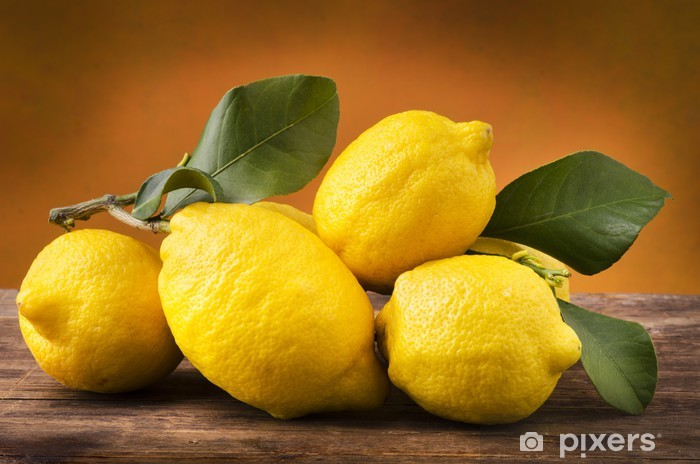 Fototapeta winylowa Cytryny z Sycylii bio - Posiłki