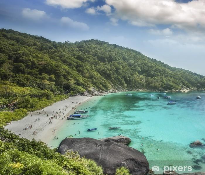 Poster Thaïlande océan - Asie