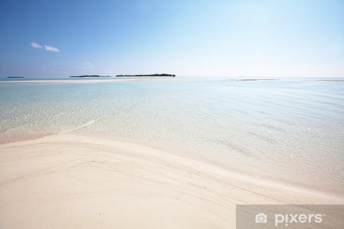 Naklejka Pixerstick Malediwy - Wakacje