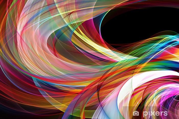 Vinyl Fotobehang Abstracte kleurrijke achtergrond - Achtergrond