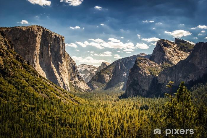 Pixerstick Sticker Yosemite National Park, Half Dome vanaf Tunnel View - Bestemmingen